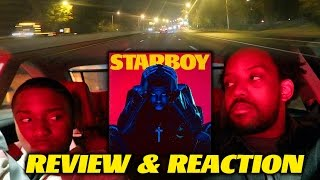 the weeknd starboy album review real reaction car cruising is it good