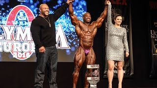 "Dexter ""The Blade"" Jackson Behind The Scenes for Mr Olympia Europe *International Version"