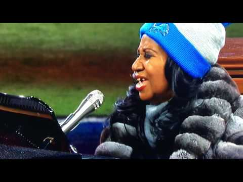 ARETHA FRANKLIN: Thanksgiving Day National Anthem.