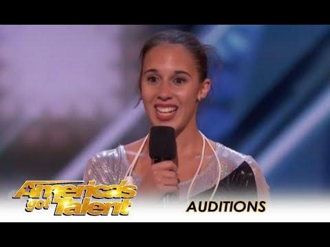 Vivien Vajda: This Girl Is The Worlds BEST Jump Roper! | America's Got Talent 2018