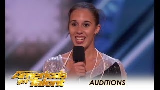 Vivien Vajda: This Girl Is The Worlds BEST Jump Roper! | America's Got Talent 2018