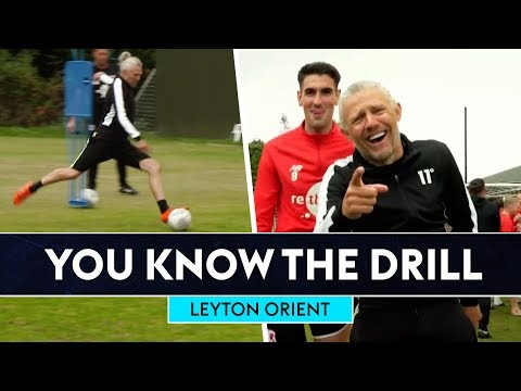 Jimmy Bullard denied by OUTSTANDING save! 👐  You Know The Drill   Leyton Orient