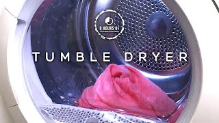 TUMBLE DRYER WHITE NOISE FOR SLEEPING, Tinnitus, Studying, Babies with Colic, Focus for 8 Hours
