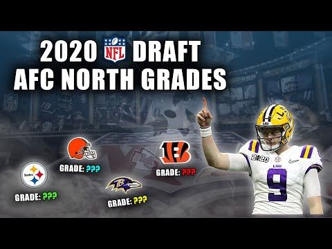 2020 NFL Draft Grades | All 7-Rounds | AFC North | THE BEST DRAFT I'VE EVER EVALUATED!