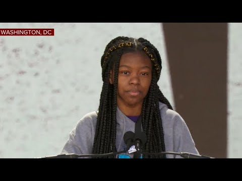 "Mya Middleton: ""Guns have become the voice of America & the government is becoming more negligent"""