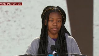 """Mya Middleton: """"Guns have become the voice of America & the government is becoming more negligent"""""""