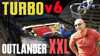 2007 Mitsubishi Outlander XL 3.0 v6 make Turbo (turbolander review)
