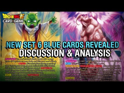 NEW BUU & VEGITO?! New Set 6 Blue Cards & Updates! | DBS CCG