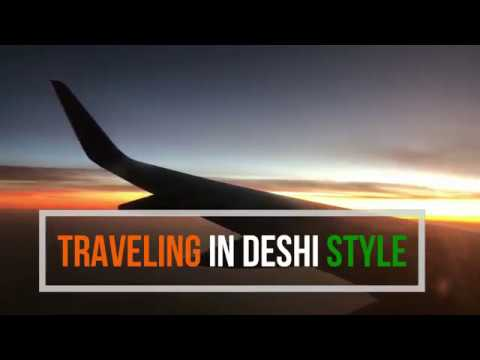 Part 1 USA to India Trip|what to pack in Check in & luggage?Traveling Internationally in Deshi style