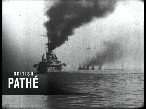 German Fleet Comes Out (1924)