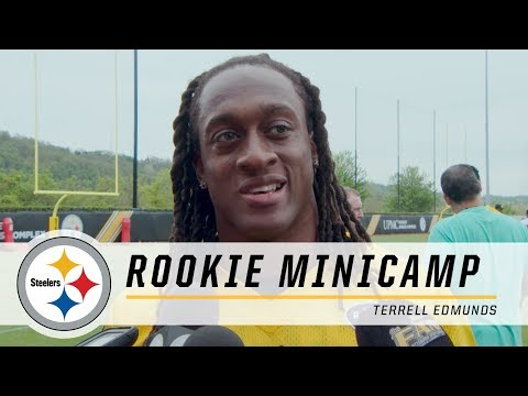 Steelers First Round Pick Terrell Edmunds shows off his versatility | 2018 Rookie Minicamp