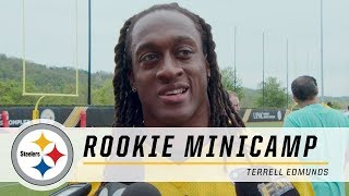 Steelers First Round Pick Terrell Edmunds shows off his versatility   2018 Rookie Minicamp