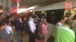 LRT power trip strands hundreds