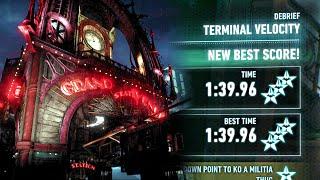 Batman Arkham Knight | AR Challenges · Predator - Terminal Velocity · 3 Stars 1:39.96
