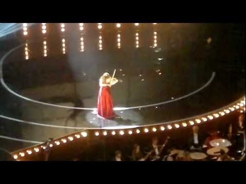 Nicola Benedetti at the Classic Brit Awards 2/10/2012