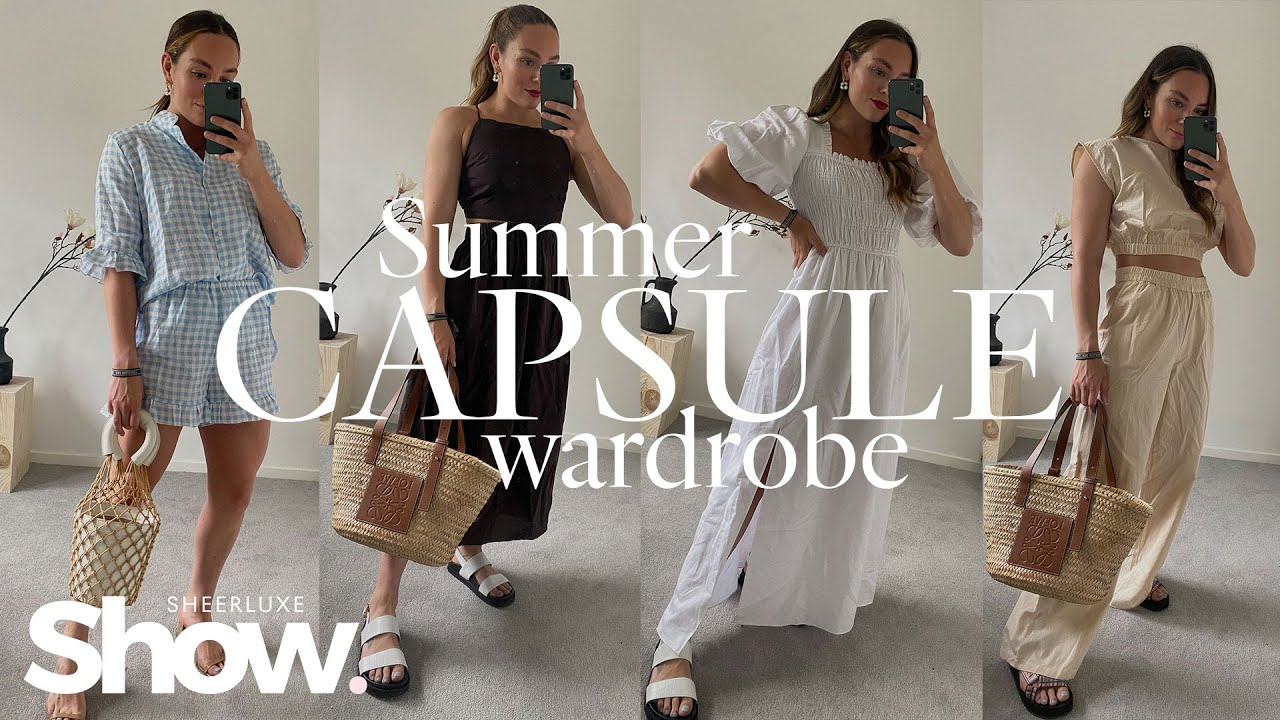 Summer Capsule Wardrobe Outfits, 2021 Fashion Trends & Hot Products   SheerLuxe Show