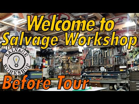 Workshop Tour BEFORE The BIG CHANGES!