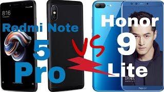 Xiaomi Redmi Note 5 Pro Vs Honor 9 Lite Comparison [Camera, Design, Performance]   Hindi