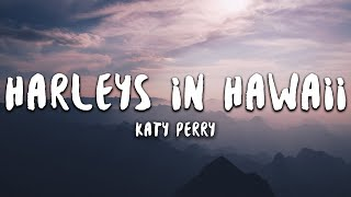 Katy Perry Harleys In Hawaii