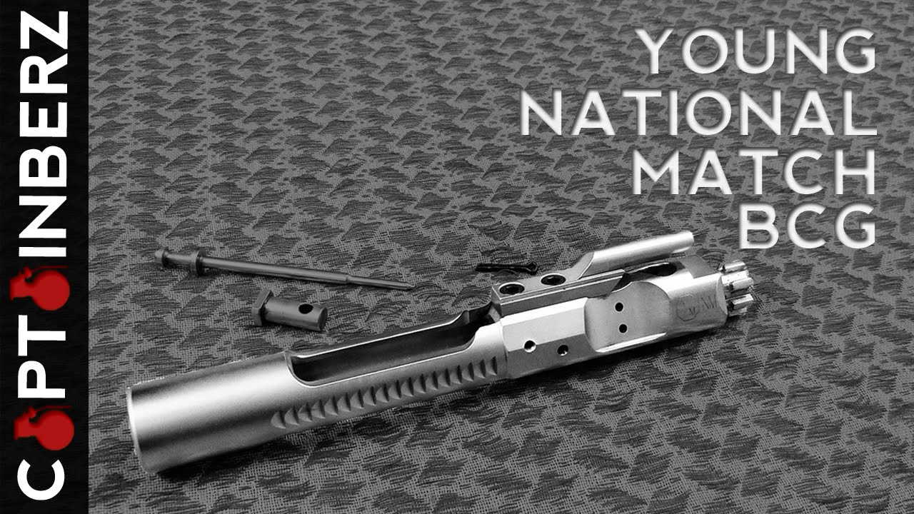Young Manufacturing National Match Bolt Carrier Group (AR-15/ 223/5 56)