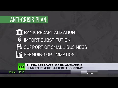Medvedev signs mega multibillion dollar anti-crisis plan for Russia