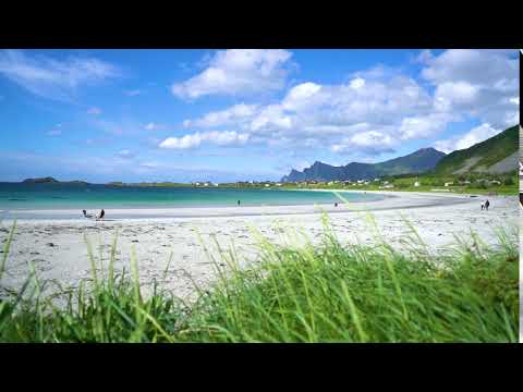 beach lofoten archipelago islands beach swj8pvcix  D