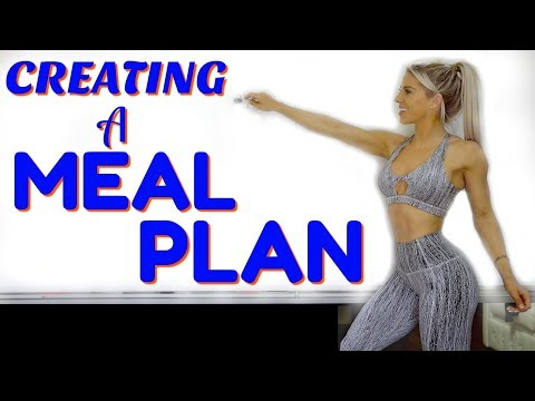 How to CREATE a MEAL PLAN   Fat Loss