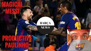 FC Barcelona vs Eibar 6-1 19/09/2017 post match analysis | Messi GOAT | Paulinho shows highlights