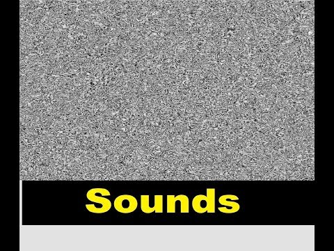 White Noise Sound Effects All Sounds