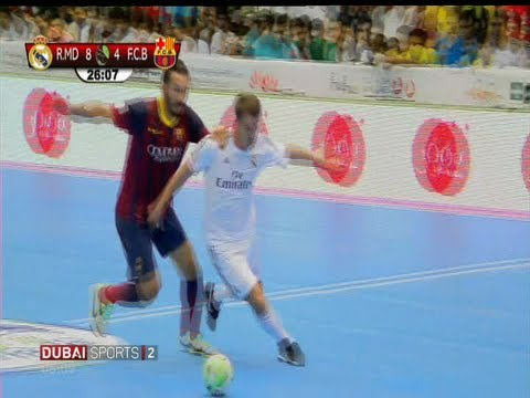 Michael Owen Futsal amazing goal, Real Madrid - FC Barcelona