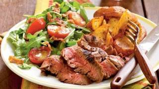 Ancho-rubbed Flank Steak Recipe