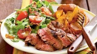 Ancho-Rubbed Flank Steak Recipe