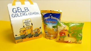 McDonalds Minions Summer 2015 Happy Meal Toys - Flipping Pirate Minion