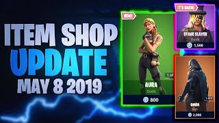 Fortnite Item Shop Update *NEW* SKINS! [08.05.2019 - 8th May 2019] Fortnite Battle Royale