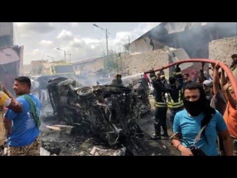 Suicide bombing targeting UAE-backed force hits Yemen's Aden