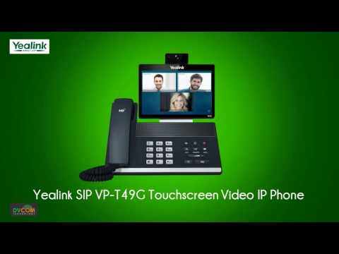 Yealink Video Collaboration IP Phone SIP VP T49G in Dubai, UAE