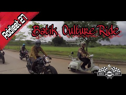 Cafe racer owners tangerang with outsiders banten road to Batik Culture Ride 2017 #19