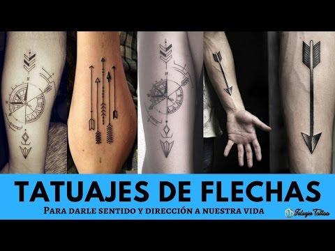 Los Mejores Tatuajes De Flechas Para Darle Sentido Y Protección A Tu Vida A Cada Paso Que Avances ♐