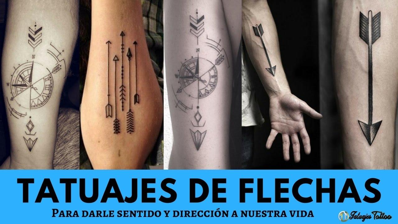 Los Mejores Tatuajes De Flechas Para Darle Sentido Y Proteccin A