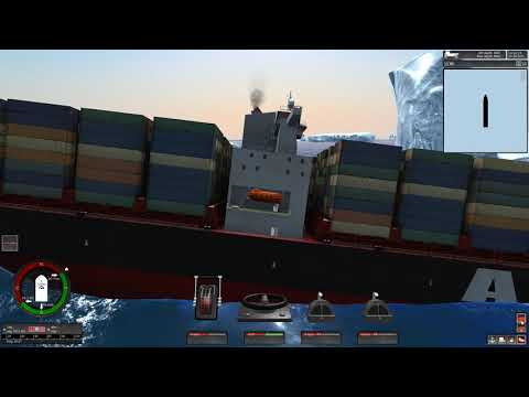 The Slow Sinking Of The Cargo Ship Vermaas | Ship Simulator Extremes Sinking Vermaas