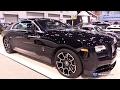 2017 Rolls Royce Wraith Black Badge - Exterior And Interior Walkaround - 2017 Chicago Auto Show