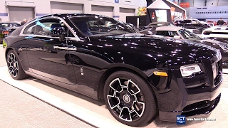 2017 Rolls Royce Wraith Black Badge - Exterior And Interior Walkaround - 2017 Chicago Auto Show