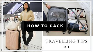 How to Pack Your Suitcase for Travel (Packing Tips) | Lionessa Pages