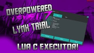 NEW ROBLOX EXPLOIT/HACK: LYNX CRACKED   LUA C, STATCHANGE, & MORE!