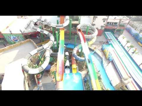 AMAAZIA water park Surat....The One only water UploopSLIDER  slide in INDIA..SKY SLIDER