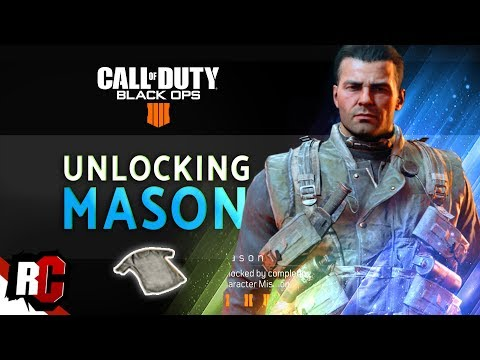 "Black Ops 4 | How to Unlock ""MASON"" (Stained White T-Shirt & How to Wake Sleeper Agent)"