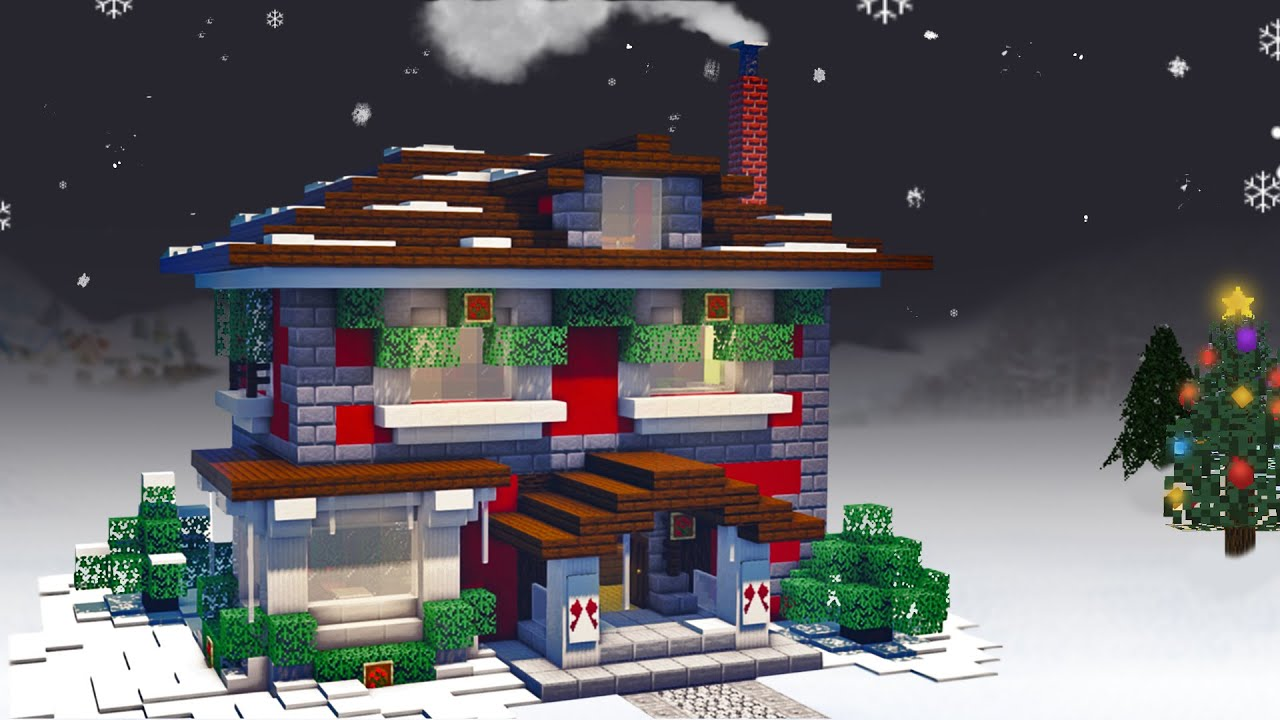 How To Build A D Christmas Minecraft