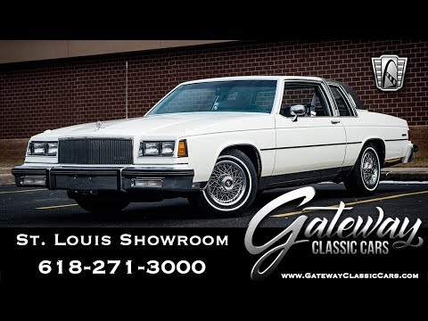 #8006 1985 Buick LeSabre Limited Collectors Edition Gateway Classic Cars St. Louis