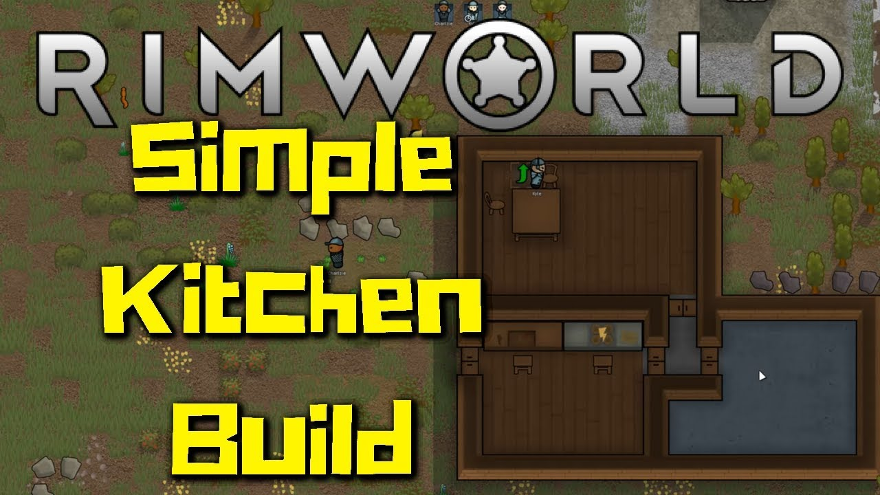 How To Build a Kitchen in Rimworld | Simple Tutorial Builds