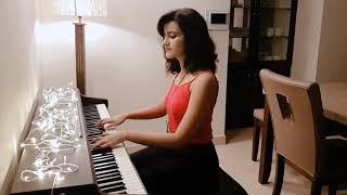 Shubhashree - Tere Liye ( Veer Zaara ) - Piano Cover